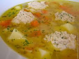 Самый простой суп с фрикадельками и вермишелью