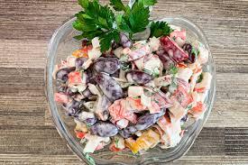 Салат фасолевый «Трио»