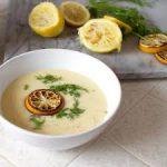 Греческий куриный суп Авголемоно