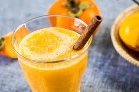 Смузи из хурмы, апельсина и банана