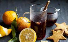 Глинтвейн с лимоном