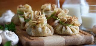 Гречневые блины со сливочно-грибной начинкой