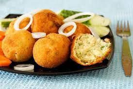 Пончики из картошки