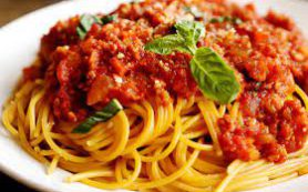 Любимые спагетти болоньезе