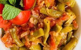 Зеленая фасоль по-азербайджански