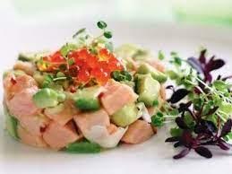 Севиче из свежего лосося