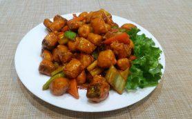 Кета в китайском соусе