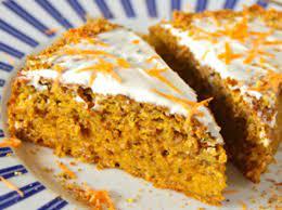 Морковный пирог с корицей и лимонной цедрой