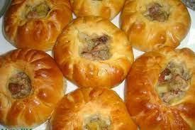 Пирожки с говядиной и картошкой