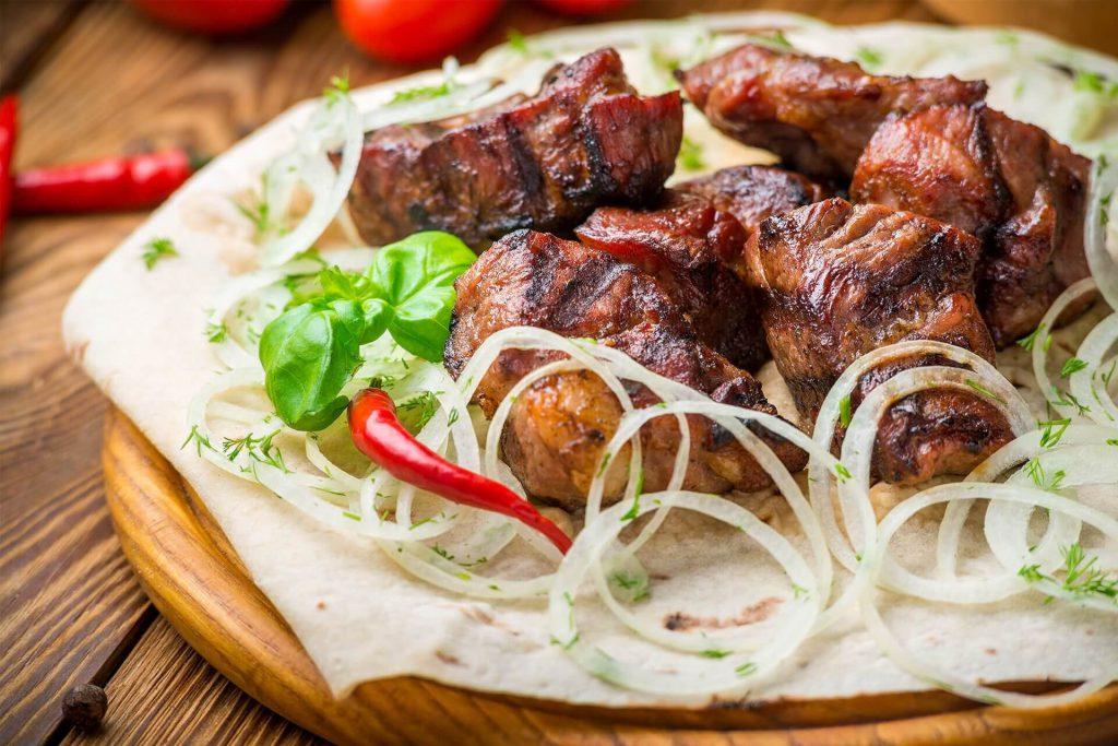 Доставка шашлыка из ресторана «Мясоедовъ» по Харькову