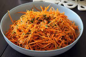 Французский морковный салат