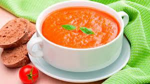 Суп-пюре из томатов
