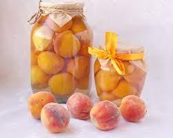 Консервированные персики без сахара